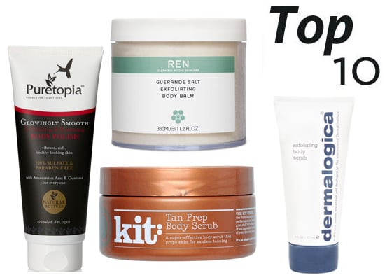 10 of the Best Body Exfoliators