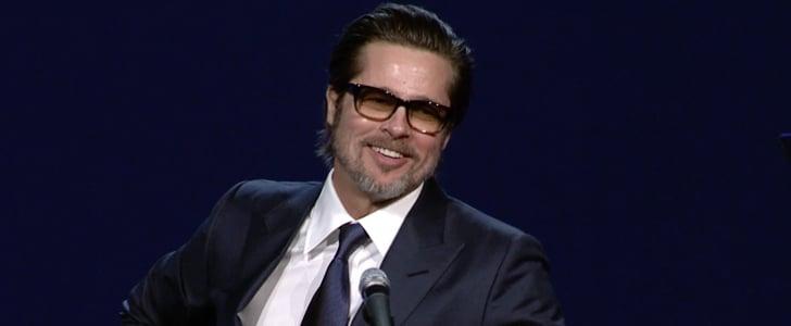 Brad Pitt's Speech at Palm Springs Film Fest 2015 | Video