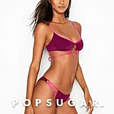 Victoria's Secret Wrapped Keyhole Bralette and Strappy Ring Hipster