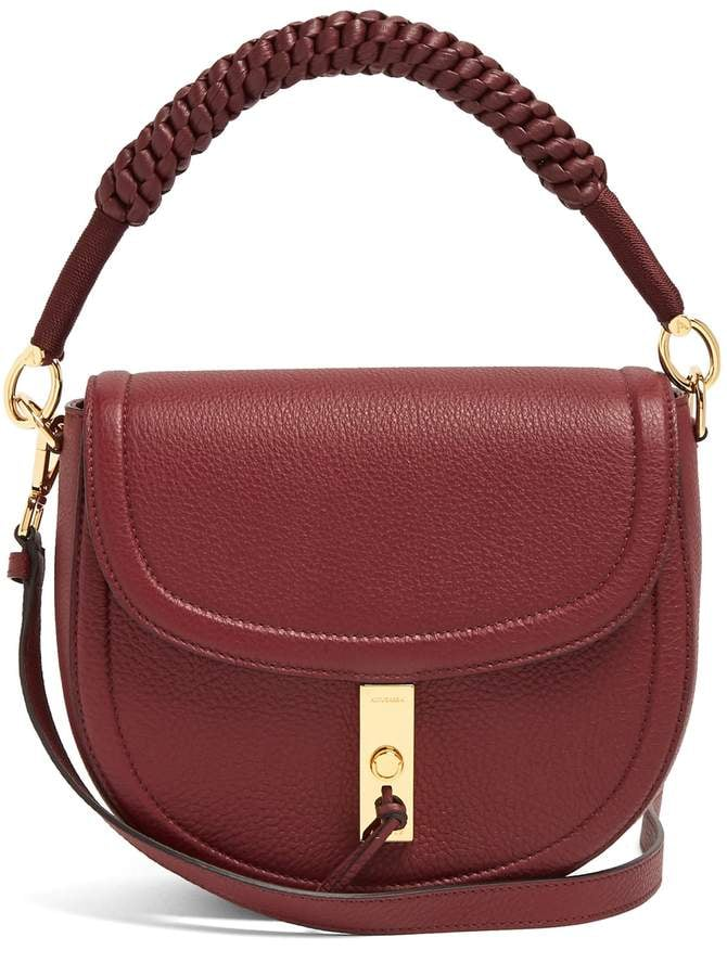 Meghan's Altuzarra Ghianda Bag in Red Leather