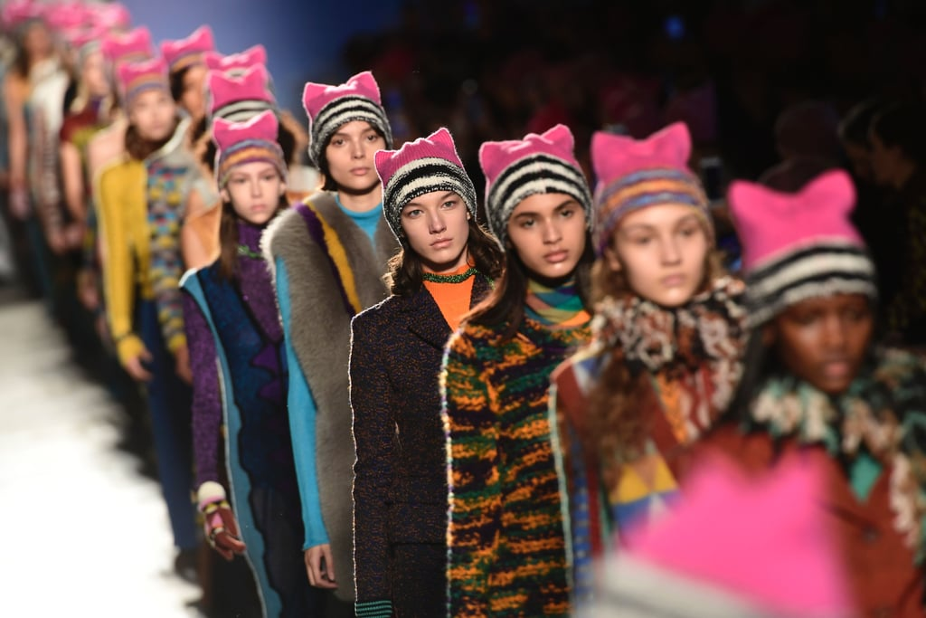 There Was a Women's March at Missoni