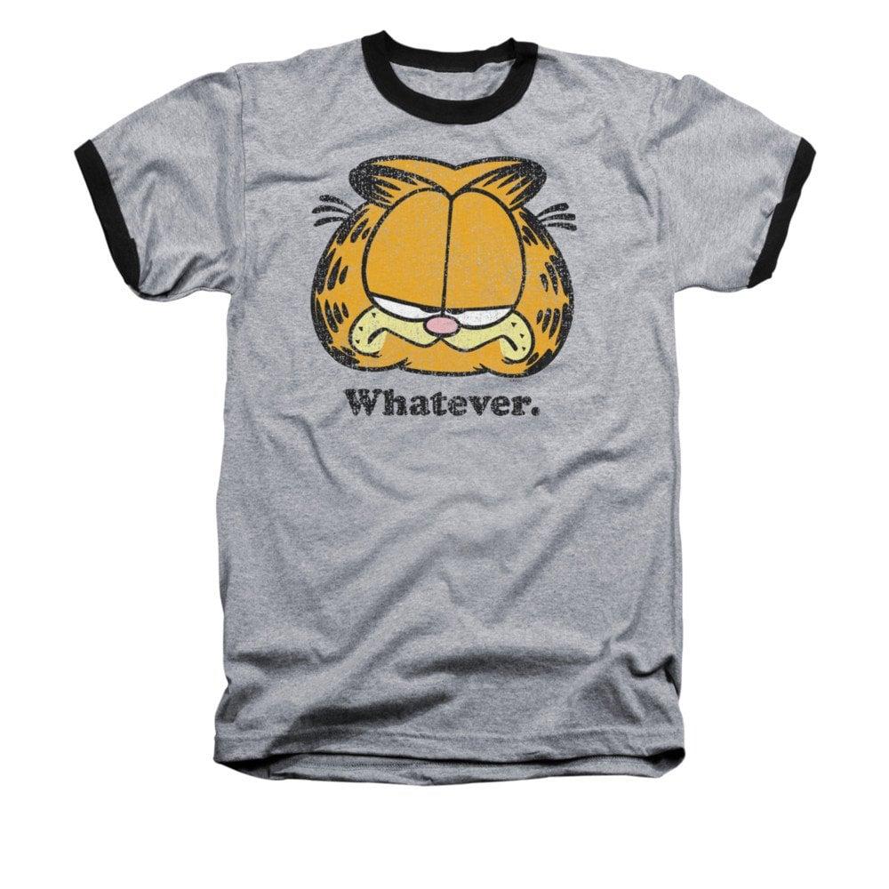 Garfield Whatever Ringer Shirt  ($24)