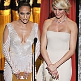 Jennifer Lopez and Cameron Diaz presented together.