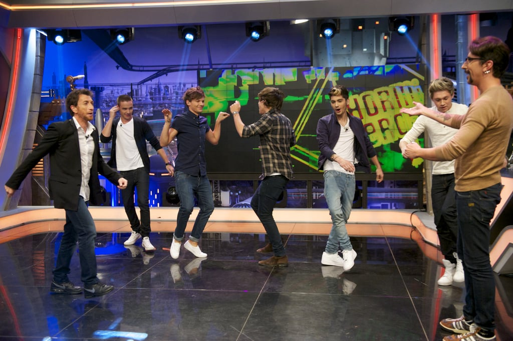 One Direction on El Hormiguero TV Show in 2012