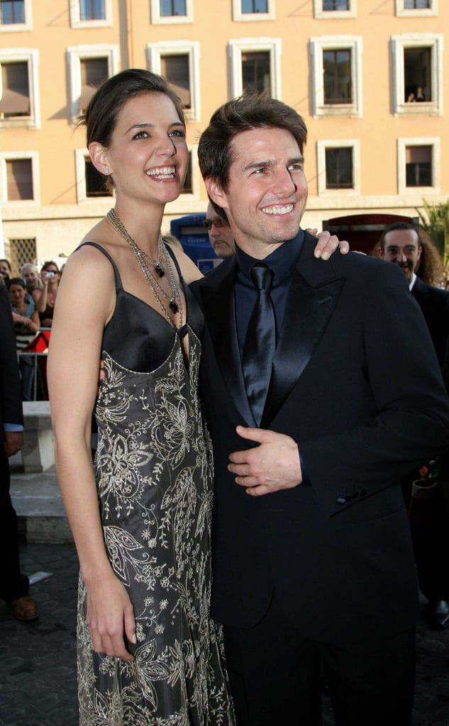 Katie Holmes and Tom Cruise in 2005