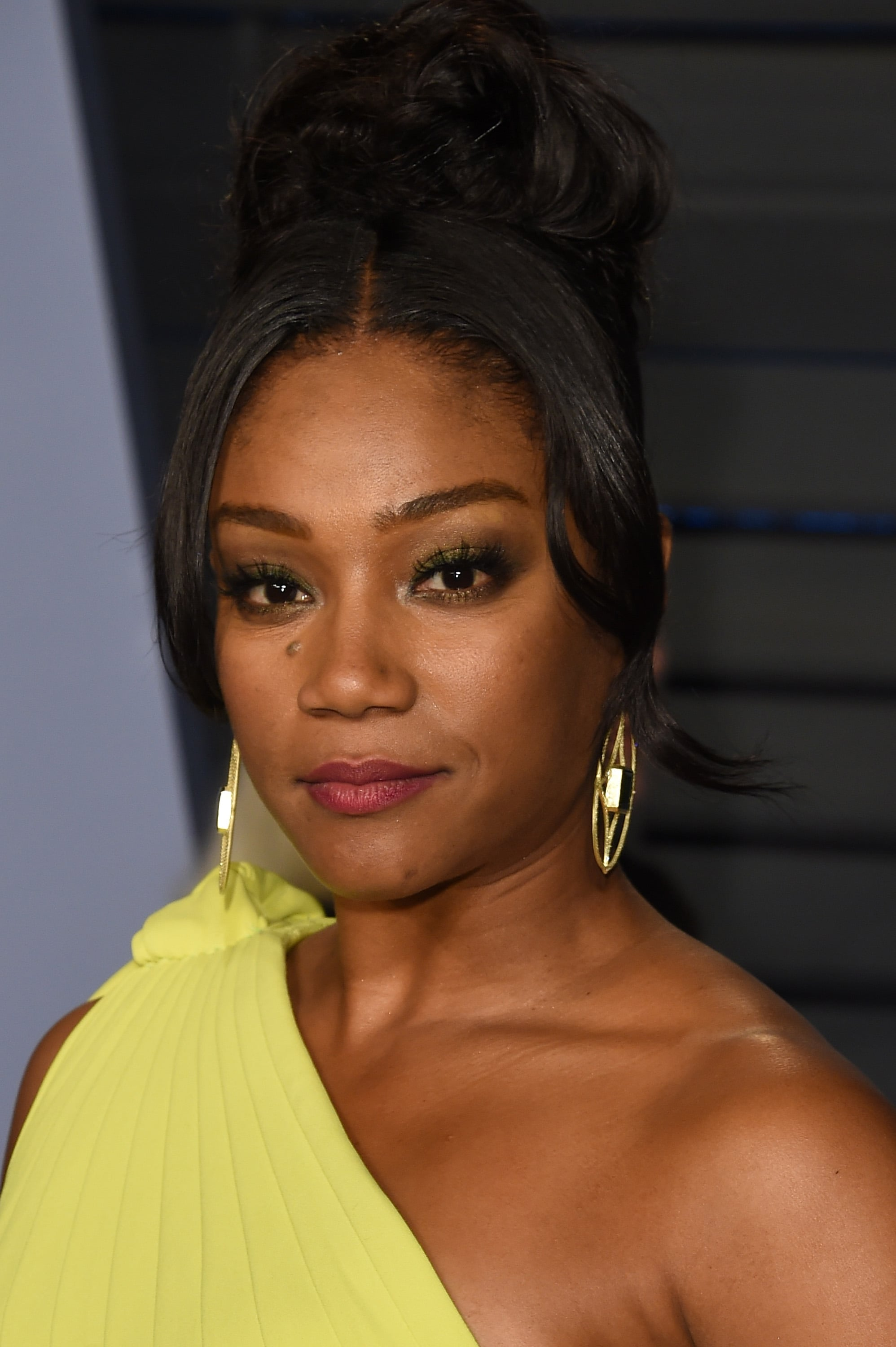 BEVERLY HILLS, CA - MARCH 04:  Tiffany Haddish attends the 2018 Vanity Fair Oscar Party hosted by Radhika Jones at the Wallis Annenberg Center for the Performing Arts on March 4, 2018 in Beverly Hills, California.  (Photo by J. Merritt/Getty Images)