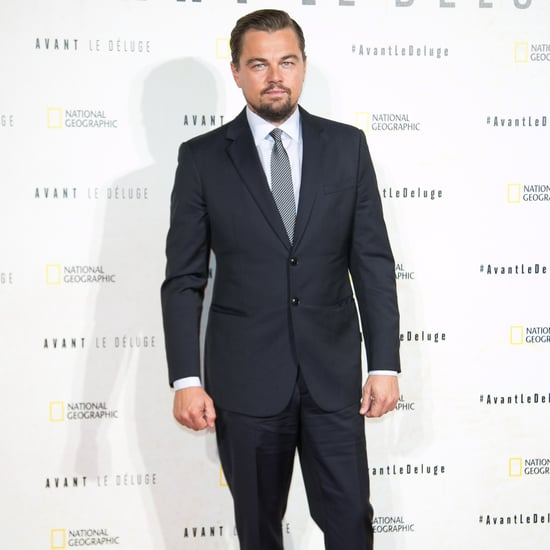 Leonardo DiCaprio at Before the Flood Premiere in Paris 2016
