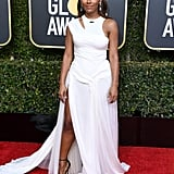 Janet Mock at the 2019 Golden Globes
