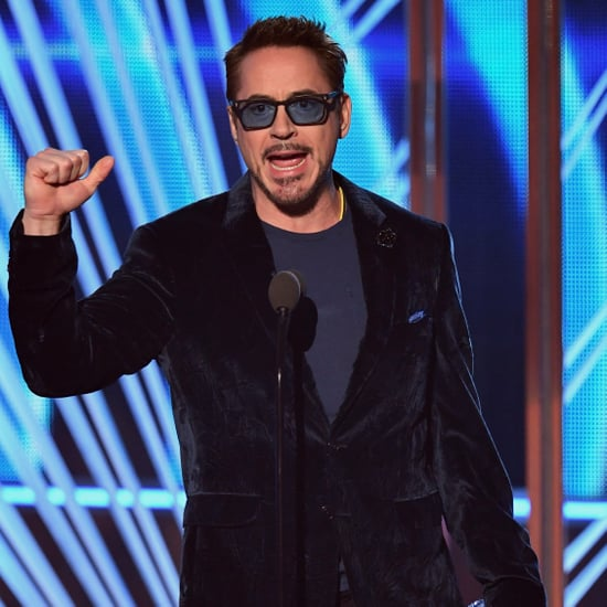 Robert Downey Jr's Speech at the 2017 People's Choice Awards