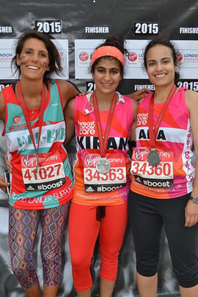 Woman Runs Marathon Without Tampon
