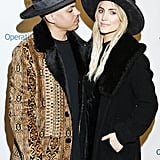 Ashlee Simpson and Evan Ross's Signature Red Carpet Pose
