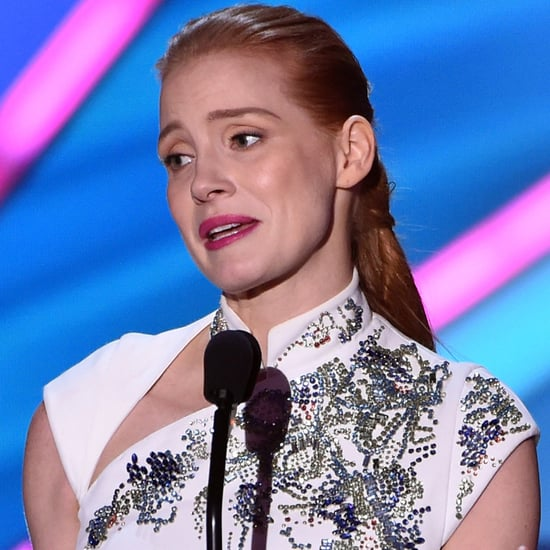 Watch Jessica Chastain's Impassioned Speech About Diversity in Hollywood