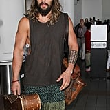 Jason Momoa Out in LA September 2016 Pictures