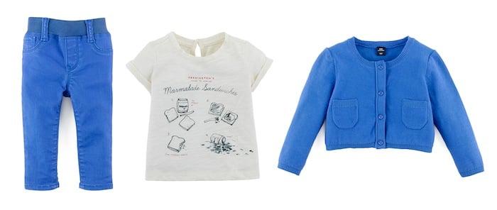Blue Jean ($25) , Graphic Tee ($17) , Cardigan (similar style) ($27)