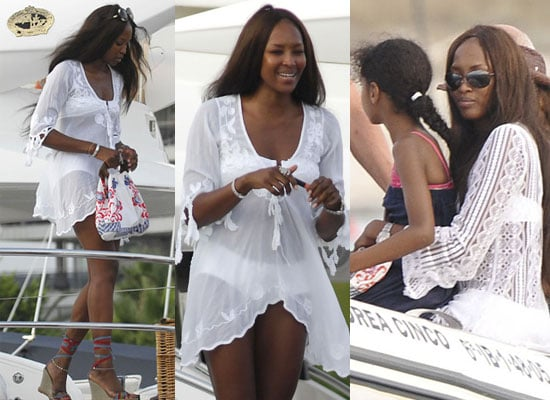 Photos of Naomi Campbell On Holiday With Boyfriend
