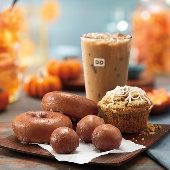 Pumpkin Spice Menu at Dunkin' Donuts 2016