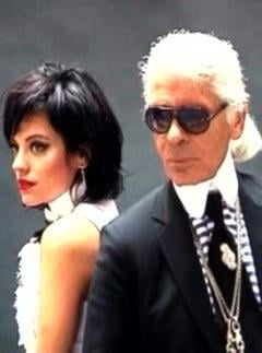 Video of Lily Allen's Chanel Shoot Featuring Karl Lagerfeld