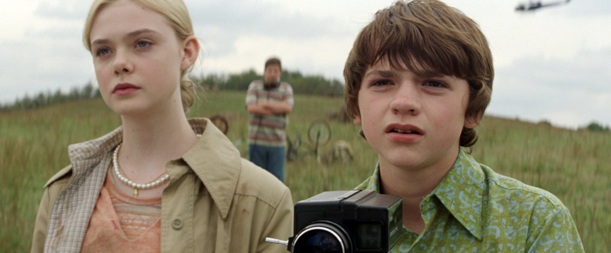 SUPER 8, from left: Elle Fanning, Joel Courtney, 2011, ph: Francois Duhamel/Paramount Pictures/courtesy Everett Collection