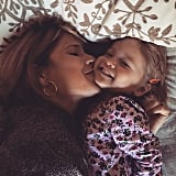 """Jenna Bush Hager celebrated with her daughter, Mila, who """"made me a mama!"""""""