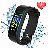 Swimmaxt Fitness Tracker With Heart Rate Monitor, Waterproof Activity Tracker Watch