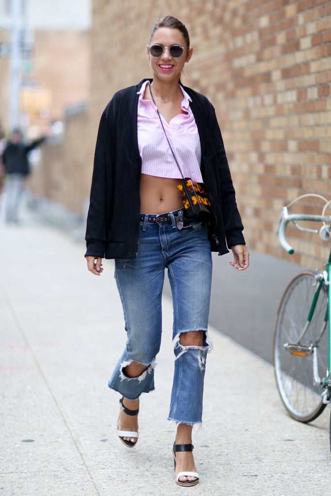 Distressed Denim Is Like Air Conditioning