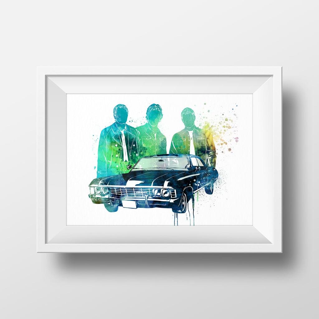 Watercolor Poster ($15)