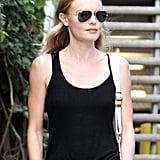 Kate Bosworth had sunglasses on while out in LA.