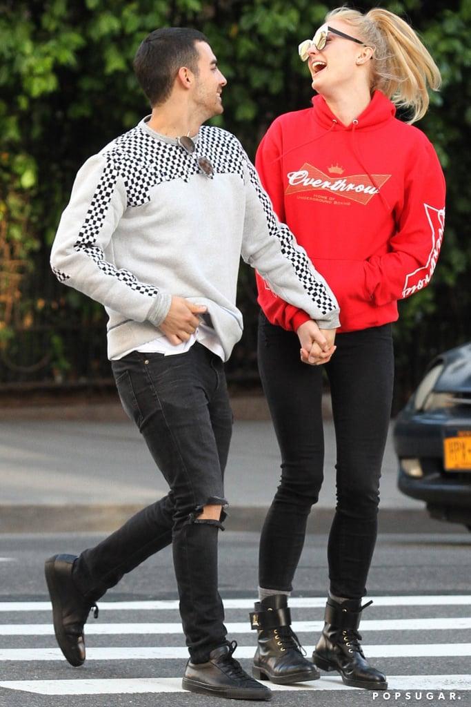 Sophie Turner and Joe Jonas Cute Pictures