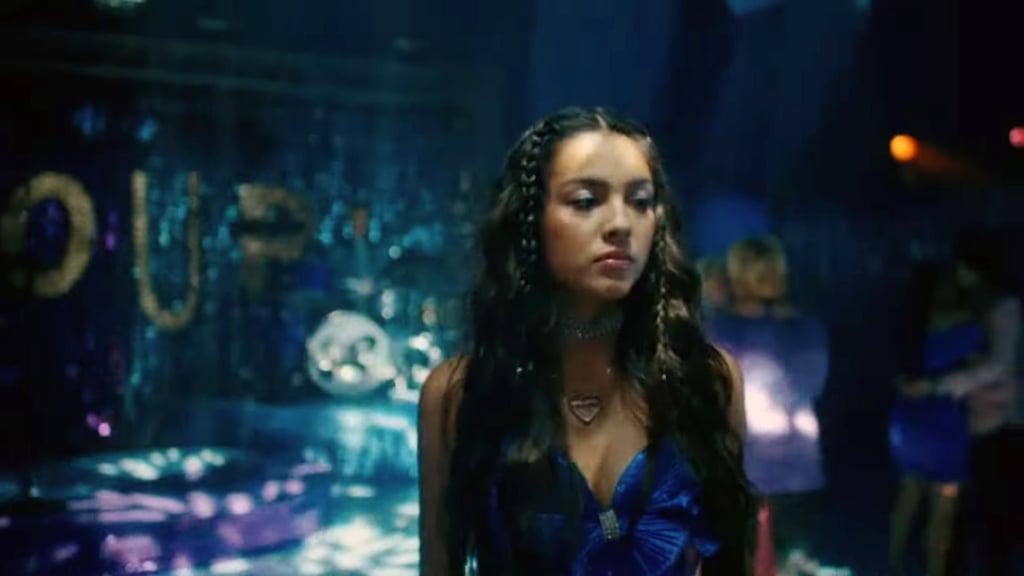 Olivia Rodrigo's Blue Prom Dress in Sour Is Like Her Mom's