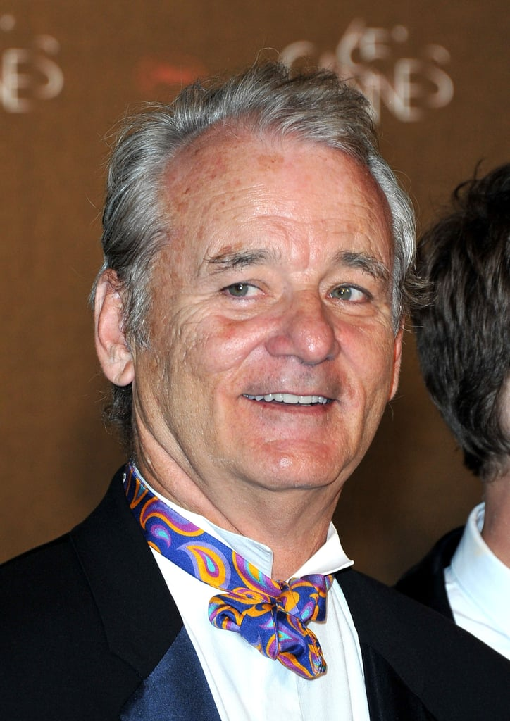 Bill Murray wore a colorful bow tie to the opening night dinner of the Cannes Film Festival.