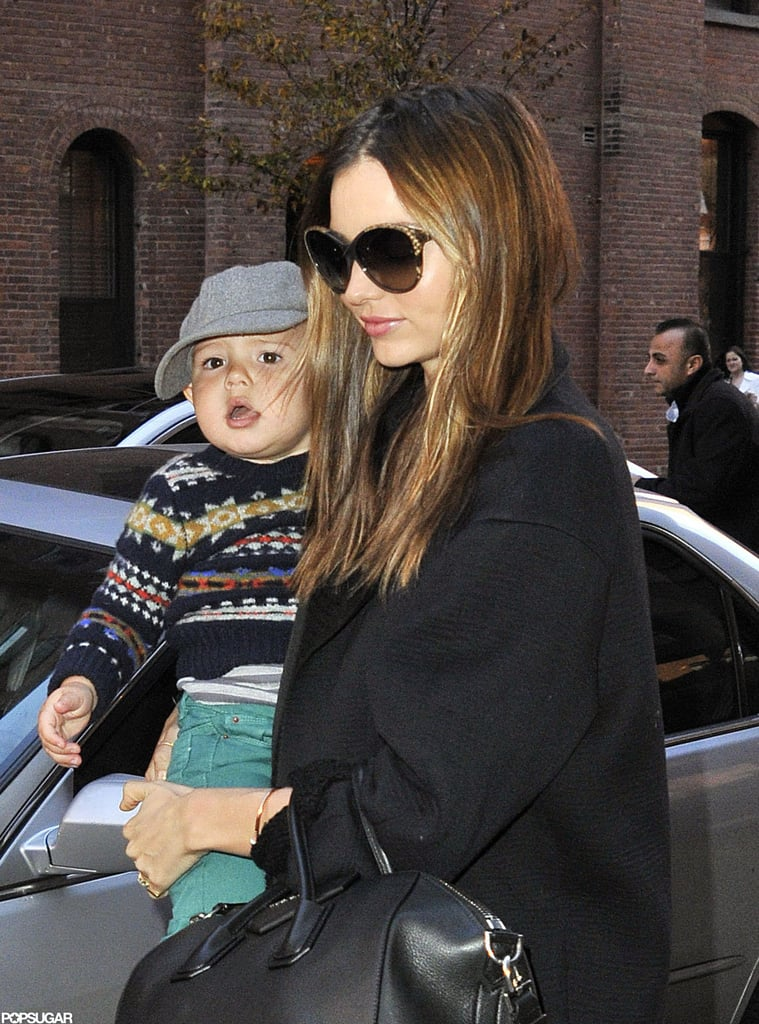 Miranda Kerr and Flynn Bloom Explore NYC | Pictures