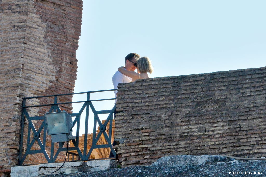 Taylor Swift and Tom Hiddleston in Rome Photos June 2016