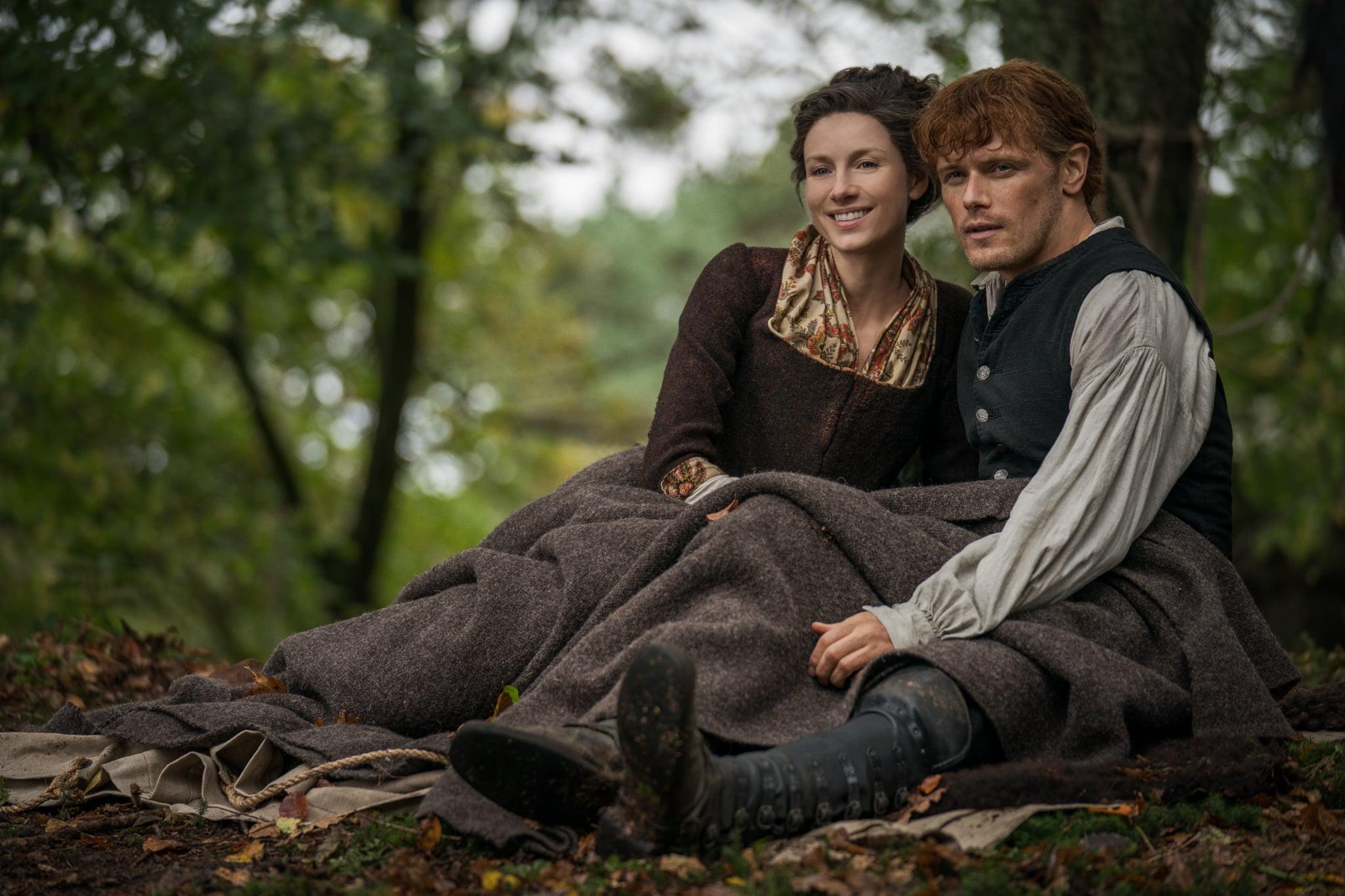 Outlander Season 4 stars Caitriona Balfe and Sam Heughan.