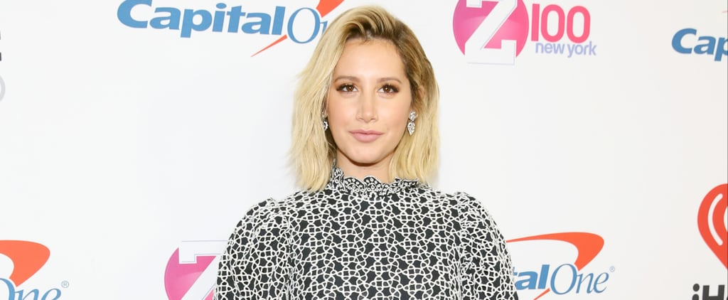 Ashley Tisdale Pink Hair 2018