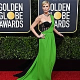 Charlize Theron at the 2020 Golden Globes