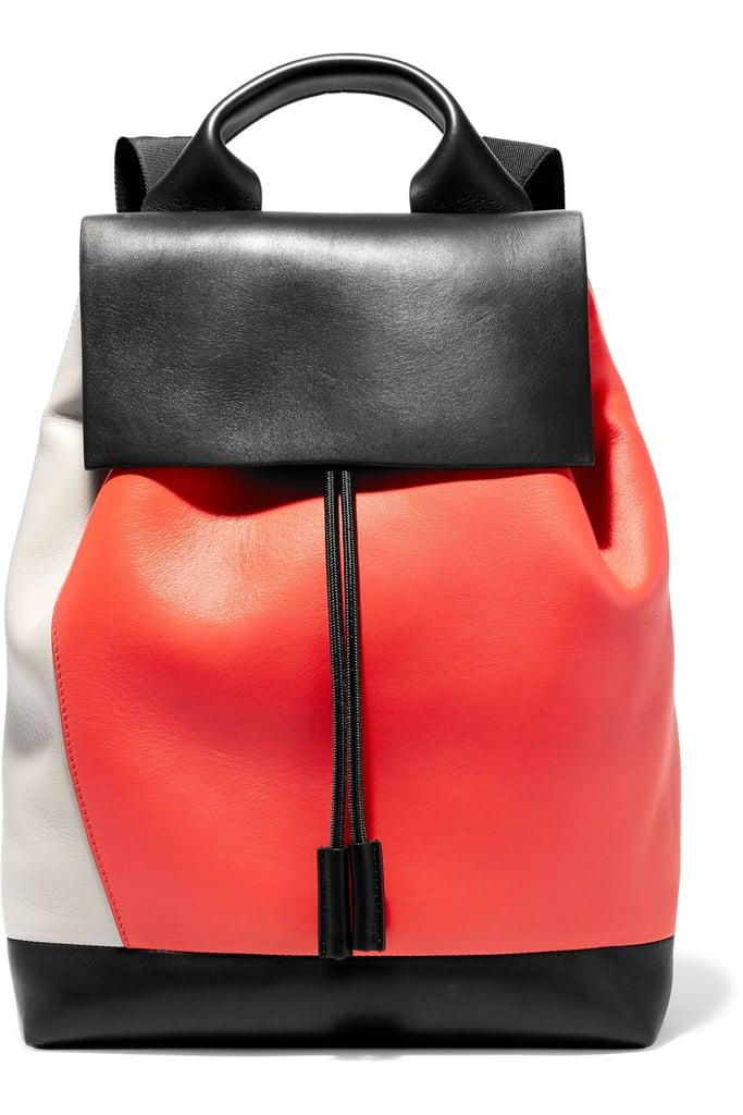 Marni Pod Color-Block Leather Backpack