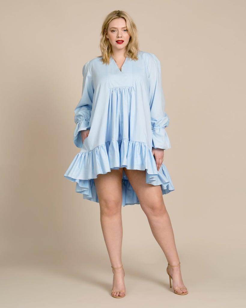Azeea Thistle Poplin Dress
