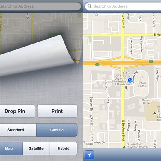 ClassicMap App For iPhone