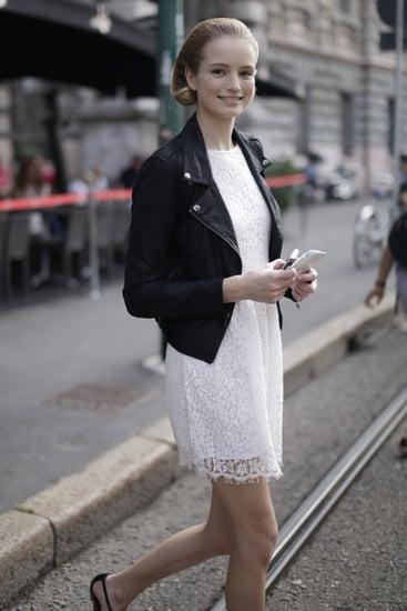 Spring 2012 Milan Fashion Week Street Style: Day 4