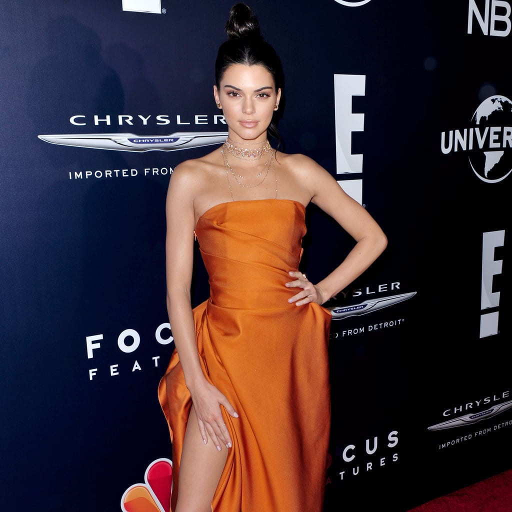 Kendall Jenner's Golden Globes Afterparty Dress 2017