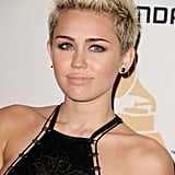 Miley Cyrus at Clive Davis's Party