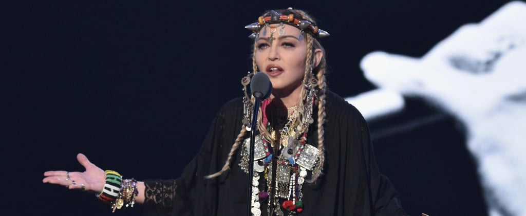 Madonna Posts About Aretha Franklin Tribute at the VMAs 2018