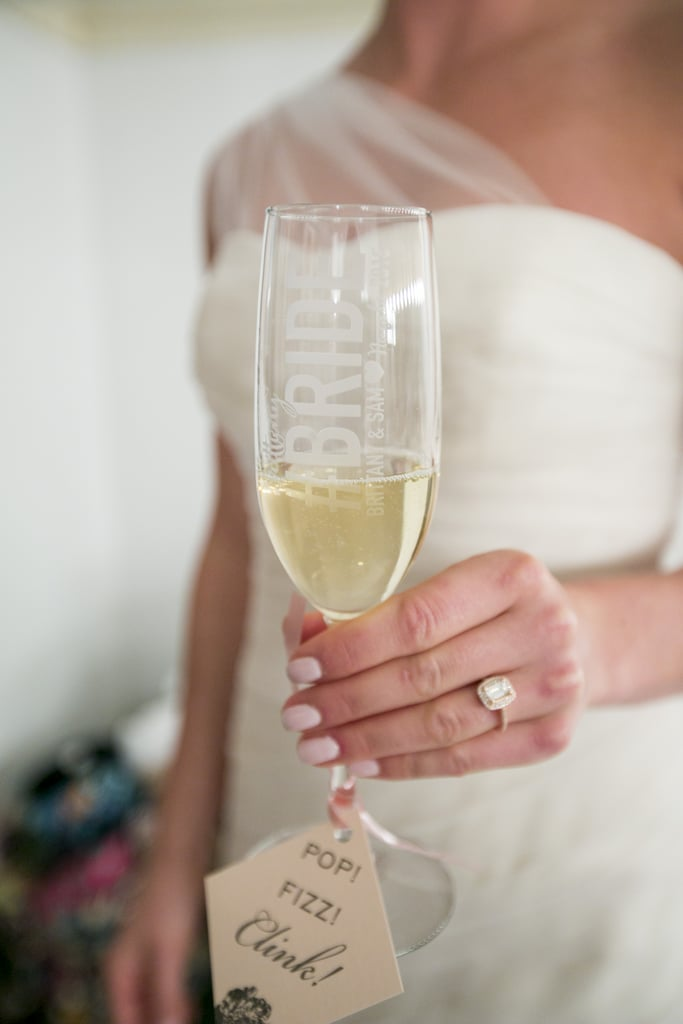 Holding a Champagne Flute