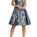 Gal Meets Glam Collection Darryn Floral Brocade Fit & Flare Dress
