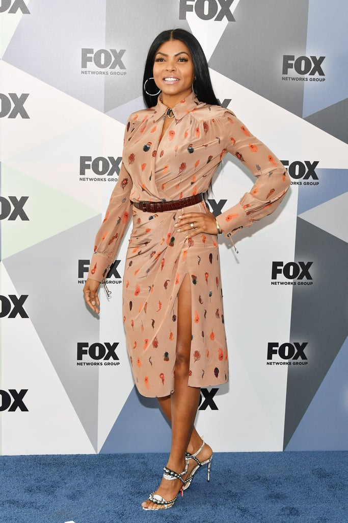 Taraji Loves to Show Some Leg