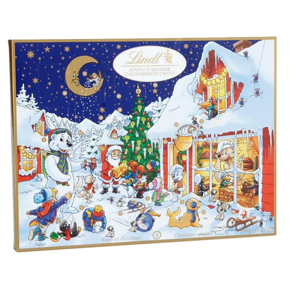 Lindt Chocolate Holiday Advent Calendar 32 Edible