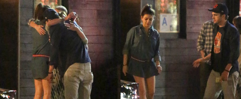Mila Kunis and Ashton Kutcher's Double Date With Jon Cryer
