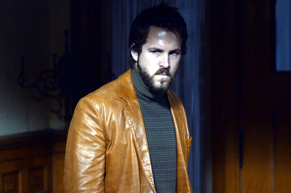 In which Ryan Reynolds's hotness counteracts the effects of this heinous coat made out of beef jerky.