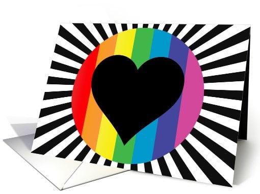 Rainbow heart ($4)