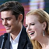 Nicole, Zac, and Matthew Get Together in Cannes to Talk Paperboy